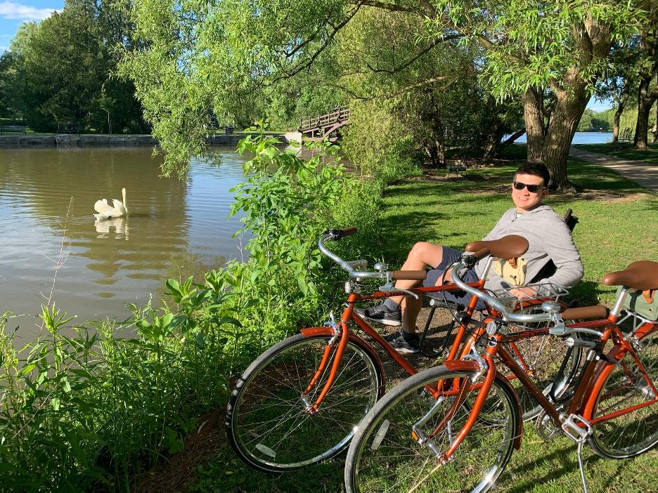 Man at a Pond
